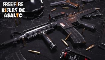 ¡Todo sobre los rifles de asalto en Free Fire!