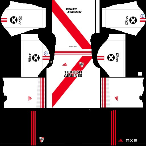 River Plate Uniforme local Dream League Soccer