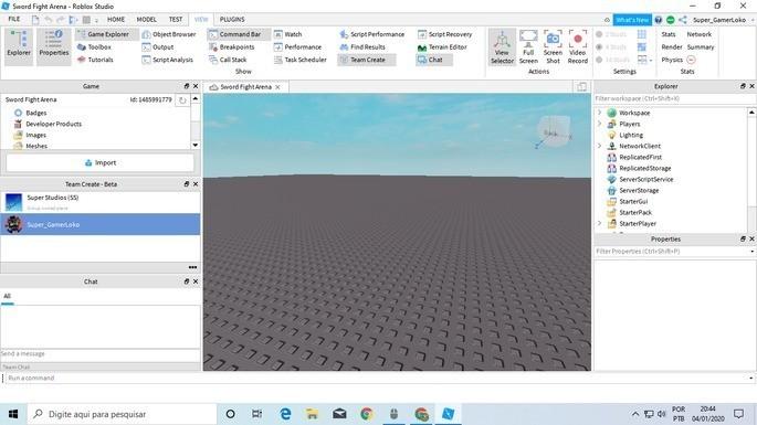 Programas para crear videojuegos - Roblox Studio