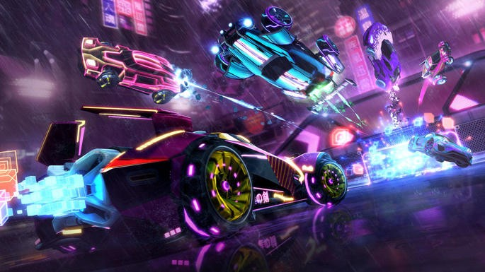 Rocket League - Juegos con crossplay