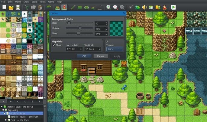 Programas para crear videojuegos - RPG Maker