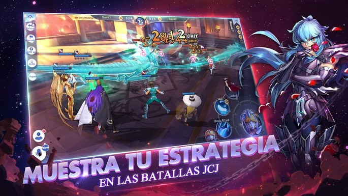 Saint Seiya Awakening - Mejores juegos para Android