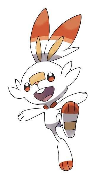 Scorbunny Pokémon Espada y Escudo
