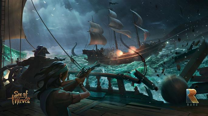 Sea of Thieves - Juegos con crossplay