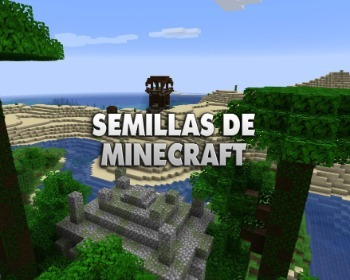 13 semillas de Minecraft: ¡explora templos, islas flotantes y consigue materiales!