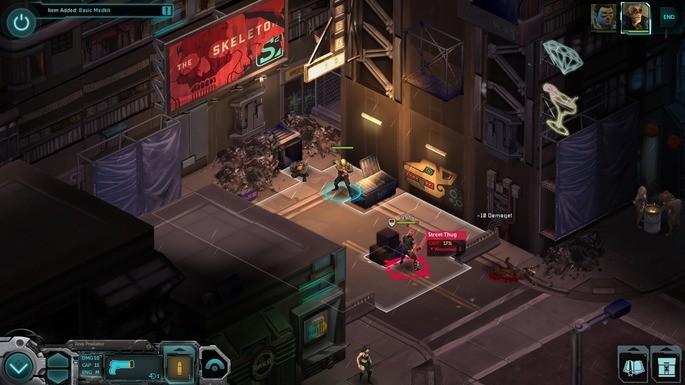 Shadowrun Returns - Mejores juegos RPG para PC