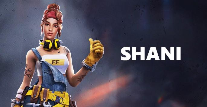 Shani - Mujeres de Free Fire