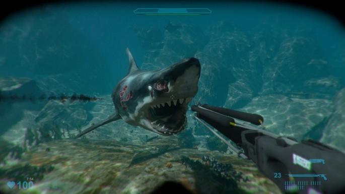 Shark Attack Deathmatch 2 - Juegos de terror para PC pocos requisitos