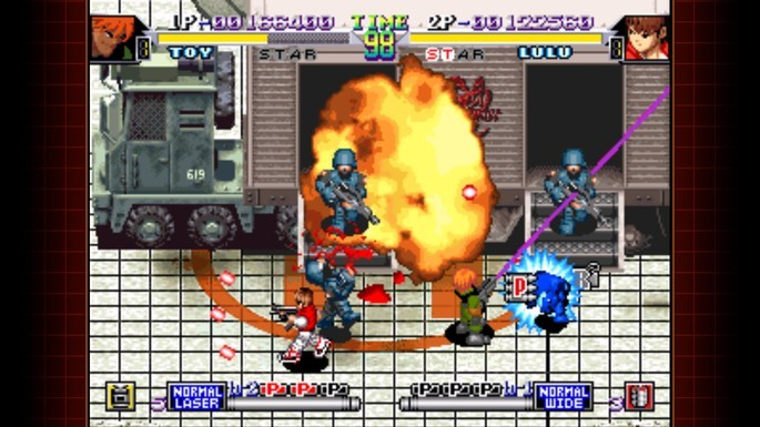 Shock Troopers 2nd Squad Neo Geo