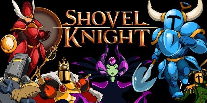 Shovel Knight - Mejores juegos 3DS