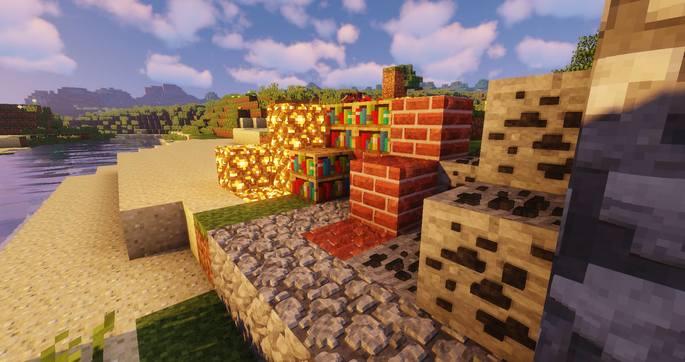 Sildurs Shaders variante Vibrant - Minecraft
