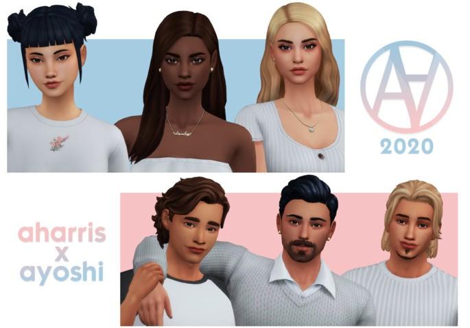 Sims 4 AxA 2020 (Paquete de ropas)