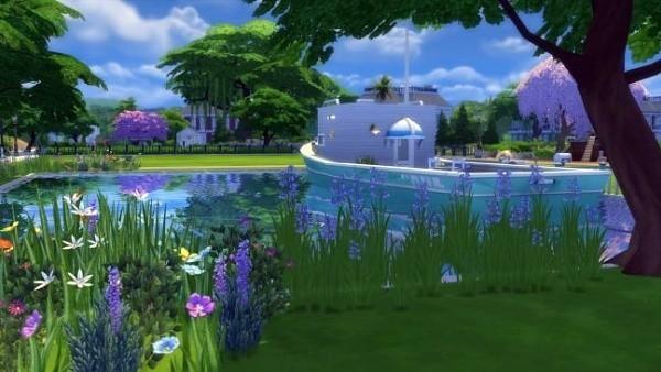 Sims 4 casa flotante