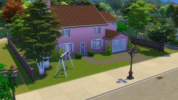 Sims 4 casa de los Simpsons