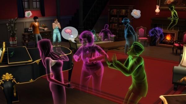 Sims 4 códigos fantasmas