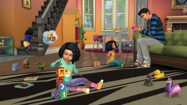 Sims 4 códigos niños