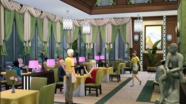 Sims 4 códigos restaurante