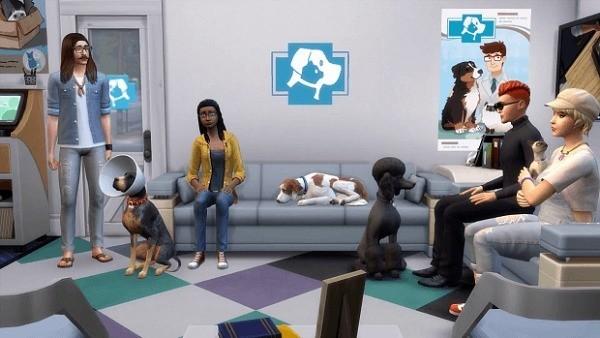 Sims 4 códigos veterinario