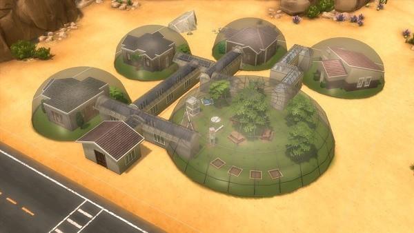 Sims 4 colonia de marte