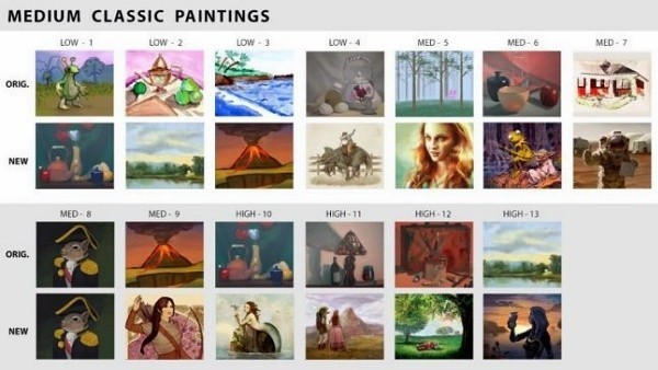 Sims 4 nuevos cuadros de pinturas