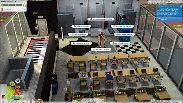 Sims 4 escuela