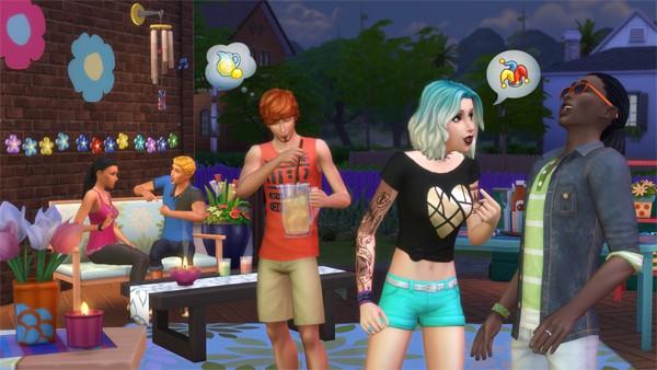 Sims 4 relaciones