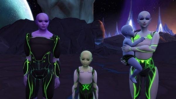 Los Sims 4 - El reto de la Invasión alienígena