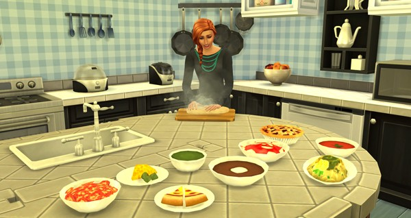 Los Sims 4 - El reto del Masterchef