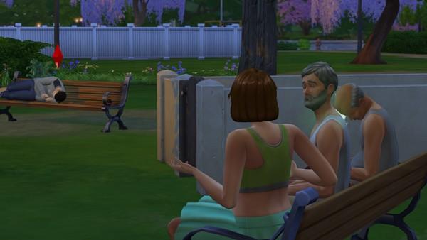 Los Sims 4 - El reto del Vagabundo