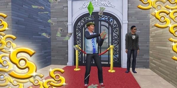 Sims 4 Ser rico