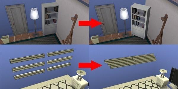 Sims 4 Mover y transformar objetos