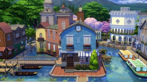Sims 4 Venecia