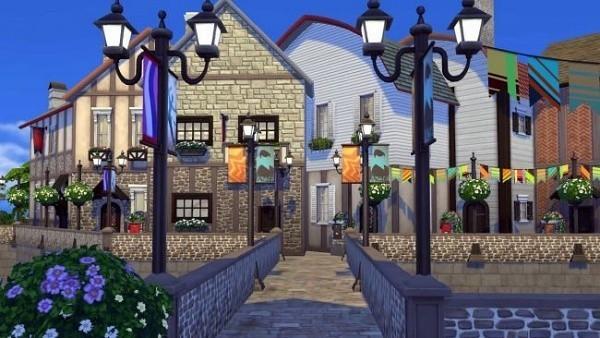 Sims 4 villa francesa