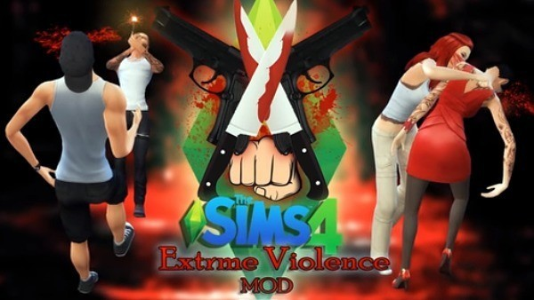 Sims 4 violencia