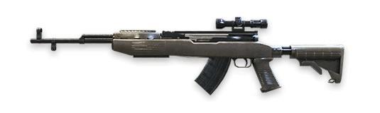 SKS Rifles de francotirador Free Fire