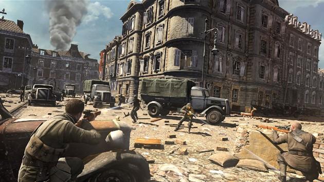 Juegos de tiros para PC con pocos requisitos: Sniper Elite V2