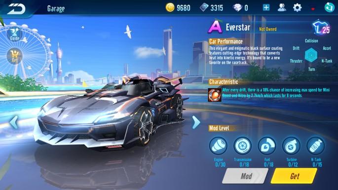 Speed Drifters - Clase A: Everstar