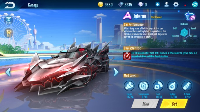 Speed Drifters - Clase A: Inferno