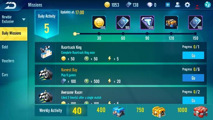 Speed Drifters: completa misiones, eventos y trofeos