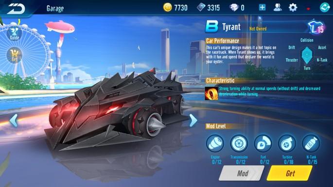Speed Drifters - Clase B: Tirano