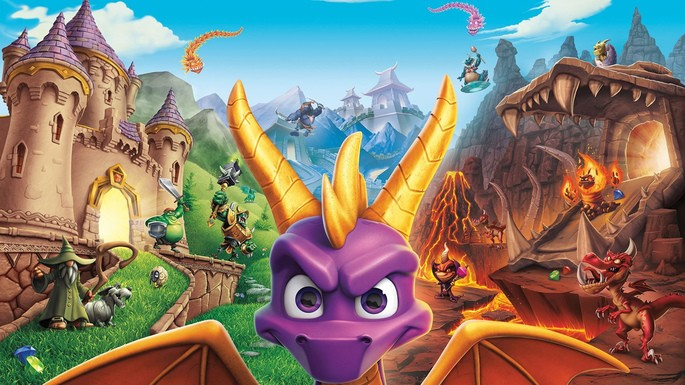 Spyro Reignitied Trilogy PS4