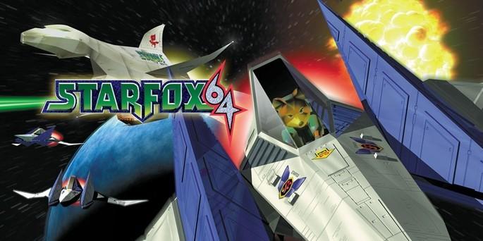 Star Fox 64 - Mejores juegos de la Nintendo 64