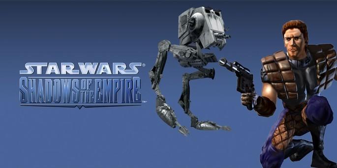 Star Wars Shadows of the Empire - Mejores juegos de la Nintendo 64