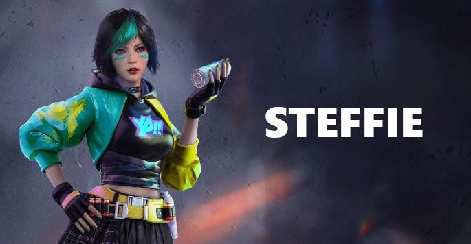 Steffie - Mujeres de Free Fire