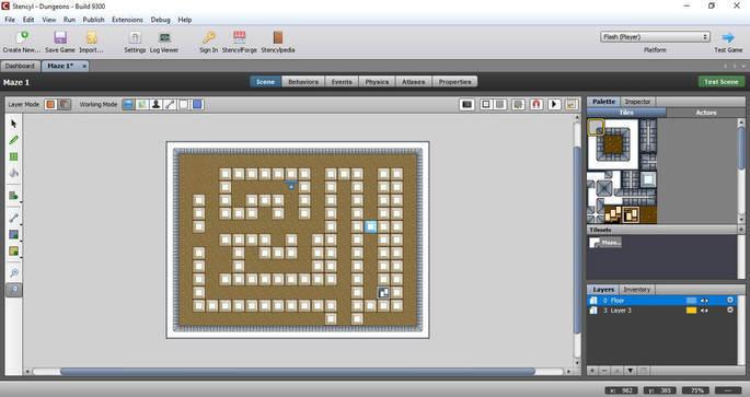 Programas para crear videojuegos - Stencyl
