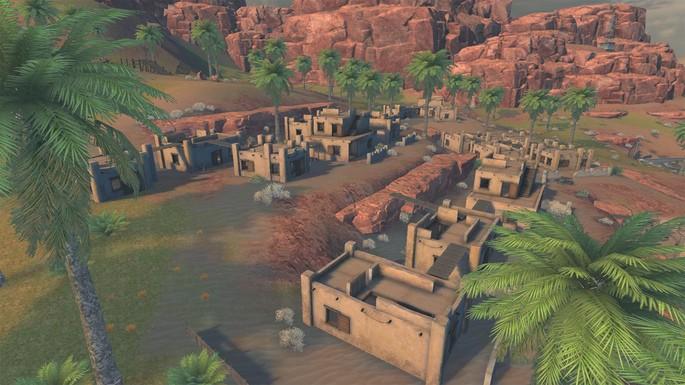 Stone Ridge - Mapa Kalahari Free Fire