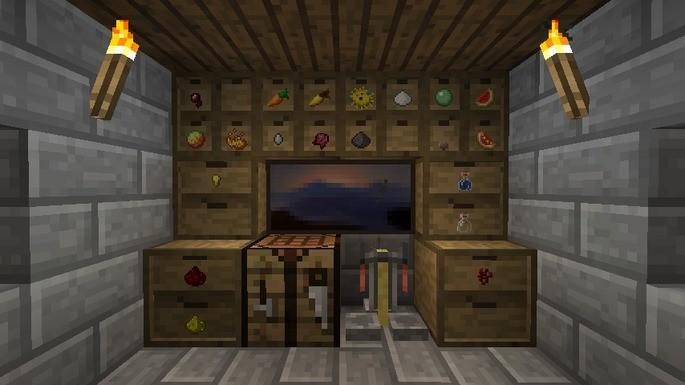 Mods para Minecraft - Storage Drawers