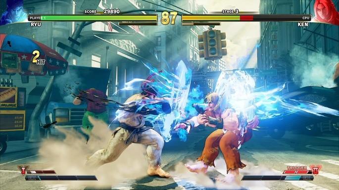 Street Fighter V - Juegos de multijugador