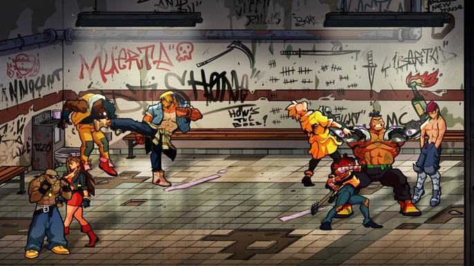 Streets of Rage 4 - Juegos multijugador local PC