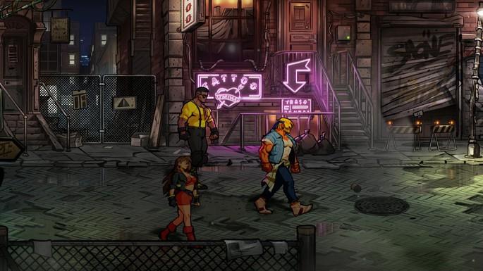 Streets of Rage 4 - Juegos multijugador PS4